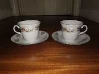 Vintage Thun TK Czechoslovakia Natalie 45 Tea Cup and Saucer  Set of 2 Ellicott City