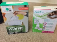 Wipes warmer and breast pump Vienna, 22180