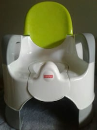 white and green Fisher-Price potty trainer St. Albert, T8N 0W1