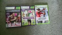 three Xbox 360 game cases Calgary, T2A 7R9
