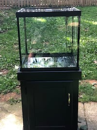 30 gallons fish tank (20x20x18)comes with stand,heater,2 pumps,filter and LED light Mount Airy, 21771