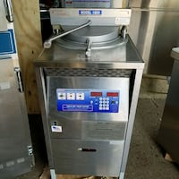 Broaster pressure fryer,  natural gas fired