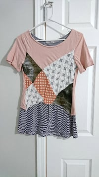 Pink Patchwork Top FAIRFAX