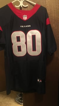 black and red Houston Texabs NFL jersey