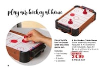 Air Hockey Table Game brand new in box / Best gift for kids Mississauga, L4X 1R6