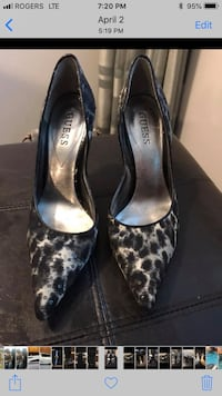 Guess shoes like new-size 7 Coquitlam, V3E 1C2
