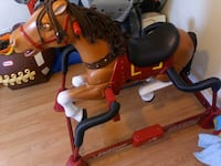 Radio flyer carousel horse Kitchener, N2G 3L3