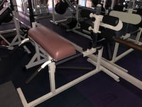 Sit-up, gym equipment. Like new, original owner. Mount Airy, 21771