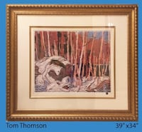 Tom Thomson artwork Vaughan
