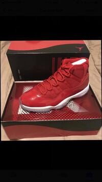 Jordan 11 retro Red Woodbridge, 08830