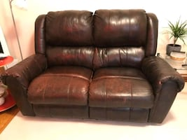 Recliner Sofa leather NEGOTIABLE
