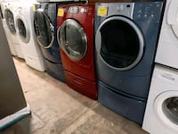 Front load electric dryers from $175 & up