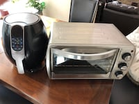 Oster Toaster+Convection and GoWise Air Fryer Alexandria