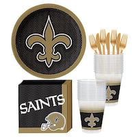 Licensed NFL New Orleans Saints Party Supplies Mississauga
