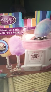White and pink nostalgia electrics cotton candy maker  Columbia, 21044