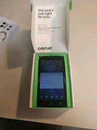 Cricket alcatel smartphone with charger and box Coeur d'Alene, 83814