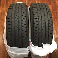 (2) Michelin Tires LTX M/S 2 P235/70R17 used Issaquah, 98027
