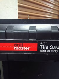 Wet Tile saw with tiles included Las Vegas, 89169