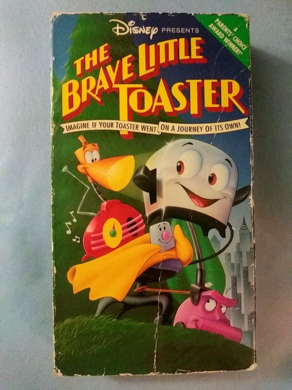 The Brave Little Toaster vhs 24898c01-fe60-41f8-a9b1-eded2eee0c7d