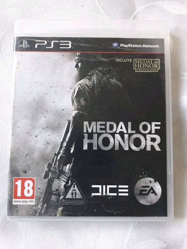 Medal of Honor PS3 game