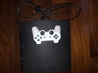 white Sony PS3 Slim with controller San Jose, 95120