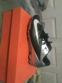 pair of black Nike cleats Las Vegas, 89108
