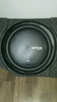 black and gray Pioneer subwoofer Hamilton, L8R 2M4