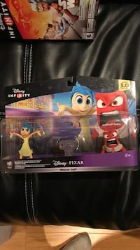 Disney Infinity 3.0 Inside Out with Anger and Joy characters as well as crystal   Vaughan, L4H 0G5