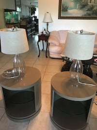Two lamps. Price firm  Fort Lauderdale, 33308