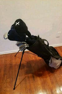 15 club golf club set with bag, gloves, and balls 51 km