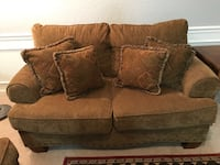 brown suede 2-seat sofa Orlando, 32835