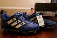Adidas Baseball cleats NEW.  Boys size 10 1/2 Geneva, 60134