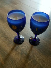 Wine glass candles Knoxville, 37931