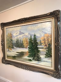 Framed Oil painting  Richmond Hill, L4C 4P4