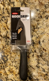Brand new pkg OXO 4' chopping knife Chantilly, 20152