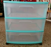 STERILITE 3 DRAWER CONTAINER Fort Lauderdale, 33334
