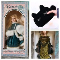18 inch Porcelain Doll Collections (with FREE gift!)