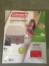 New, unopened Coleman Elite Double High Air bed, Twin North Bellmore, 11710