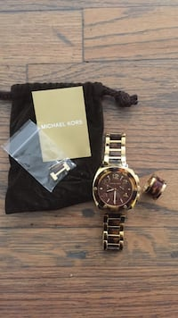 Brand new Michael Kors watch and matching ring Los Angeles, 90036