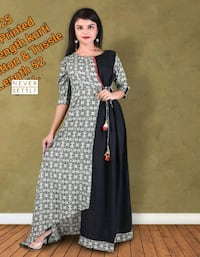 Black and gry full gown  Mississauga, L5M