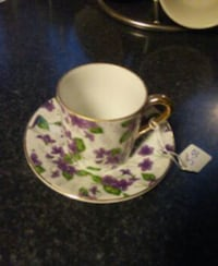 Cute Tea Cup And Saucer Rockwell, 28138