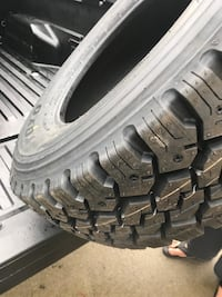 Lt265/70/R17 Toyo tires M55 Snow and mud with the snowflake
