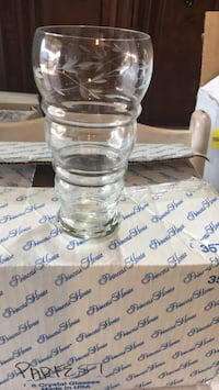 6 parfest glasses from princess house Bradford West Gwillimbury, L3Z 3J5