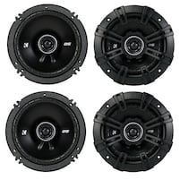 4 new kicker car speakers WITH INSTALLATION