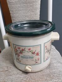 round white and green plastic Rival Crock Pot slow Vancouver, V5N 4M9