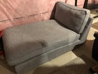 Grey ikea arm chair - nehotiable Mississauga, L4W 4Z5