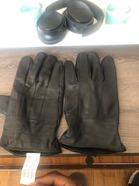 Mens leather gloves size Xl