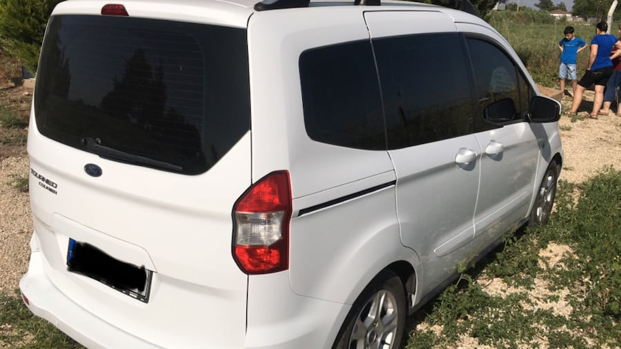2016 Ford Tourneo Courier Journey 2