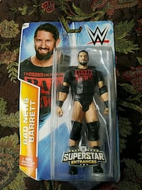 Wade Barrett action figure in box Brentwood, 11717