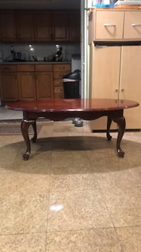 Brown wooden coffee table with matching end tables Harrison, 10528